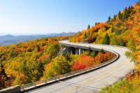 <h2></h2><p>The Lin Cove Viaduct on the Blue Ridge Parkway in North Carolina. </p>