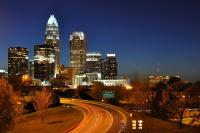 <h2></h2><p>Charlotte, North Carolina night skyline. </p>
